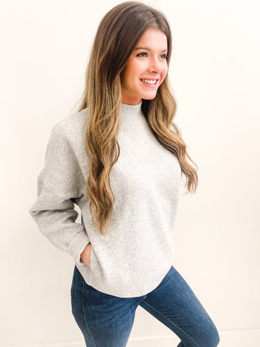 The Troy Sweater Grey