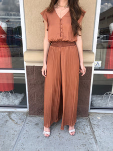 Terra Cotta Jumpsuit
