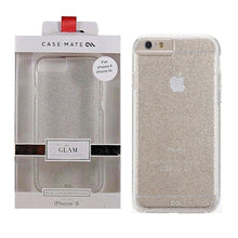 Load image into Gallery viewer, Case-Mate Sheer Glam Hard Cover for Apple iPhone 6 6s - Clear Champagne Glitter