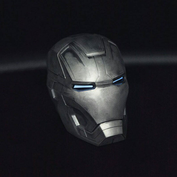 Iron Man MK2 1:1 Alloy Helmet with LED Eyes