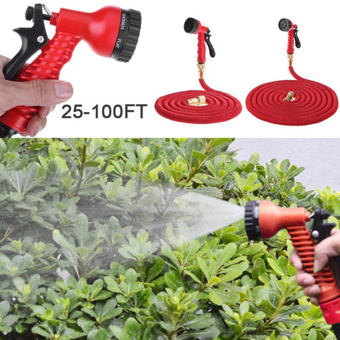 Garden Spray Gun With Expandable Pipe