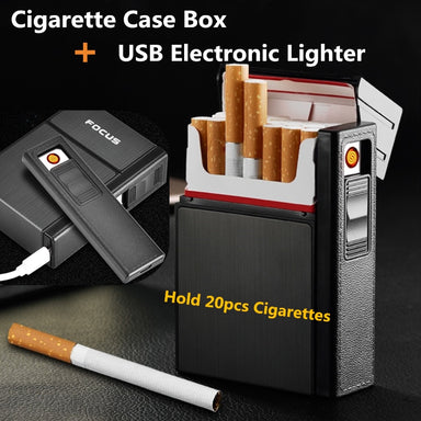 Electronic Cigarette Case Lighter