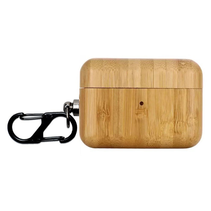 Wooden Bumper Shockproof Protective Case For Apple Airpods Pro