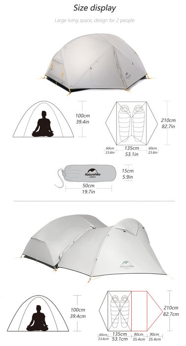 3 Season Camping Waterproof Tent
