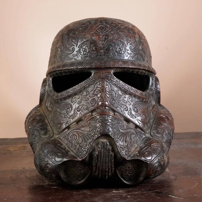 Storm Trooper 1:1 Mask Copper Sculpture
