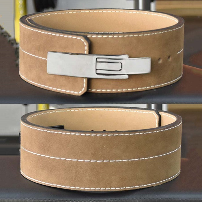 Weight Power Lifting Leather Lever Pro Belt