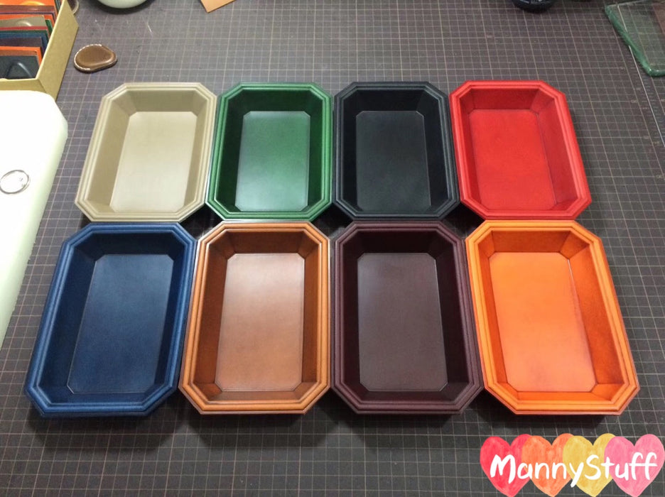 Vegetable Tanned Leather Tray