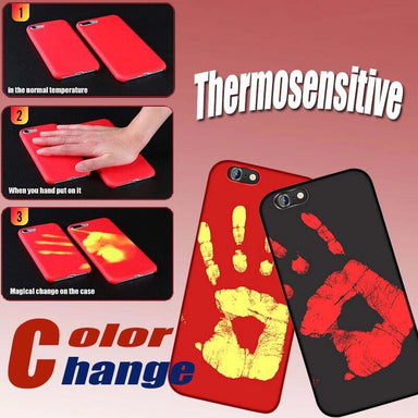 Physical Thermal Discoloration iPhone Case