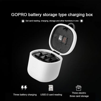 Minimalist Gopro Battery Charger