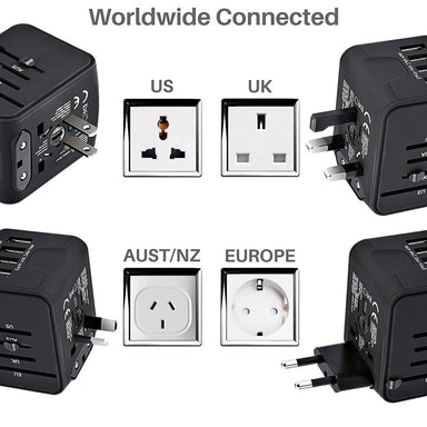 All-In-One Universal Travel Power Adapter