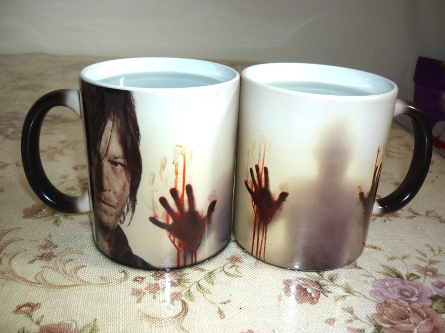 Walking Dead Color Changing Cup