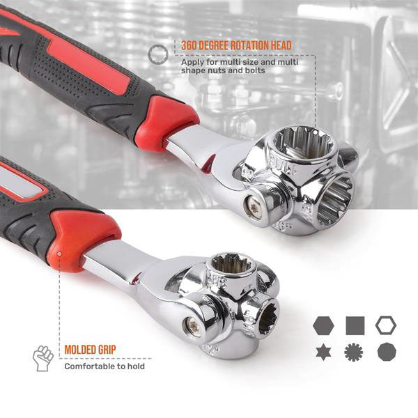 Multifunctional Socket Wrench 8-in-1