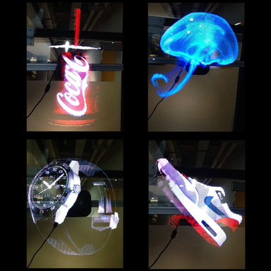 3D Hologram Light Fan