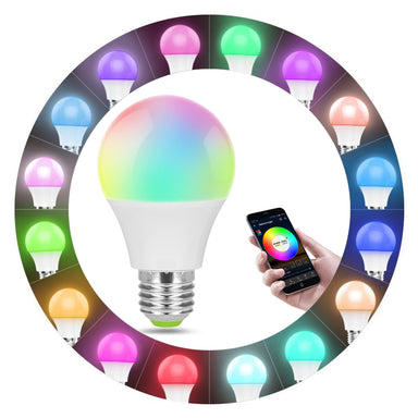 Smart WiFi RGB Light Bulb