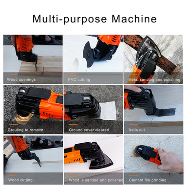 Variable Speed Oscillating Multi-Tools