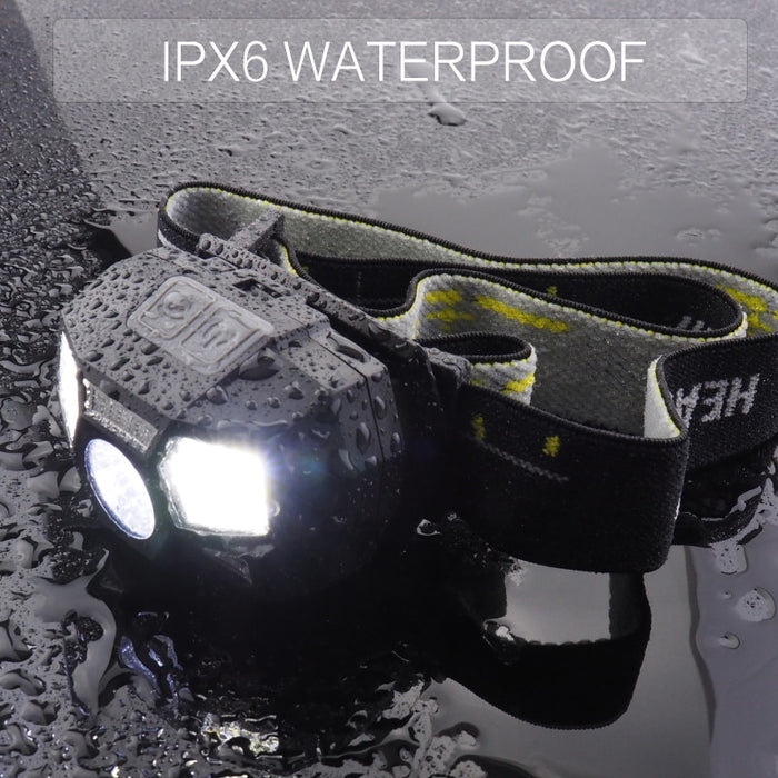 5000LM Rechargeable Waterproof Headlight