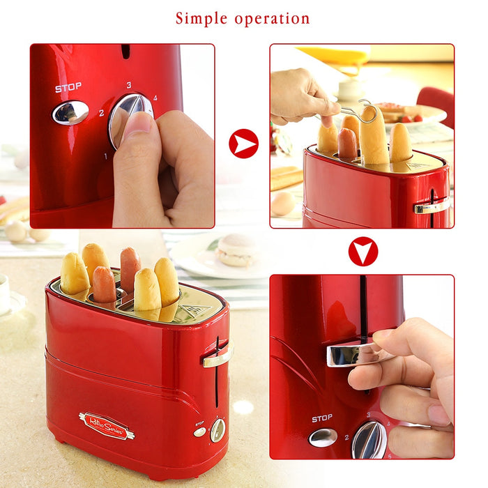 Pop-Up Bread & Hot Dog Toaster