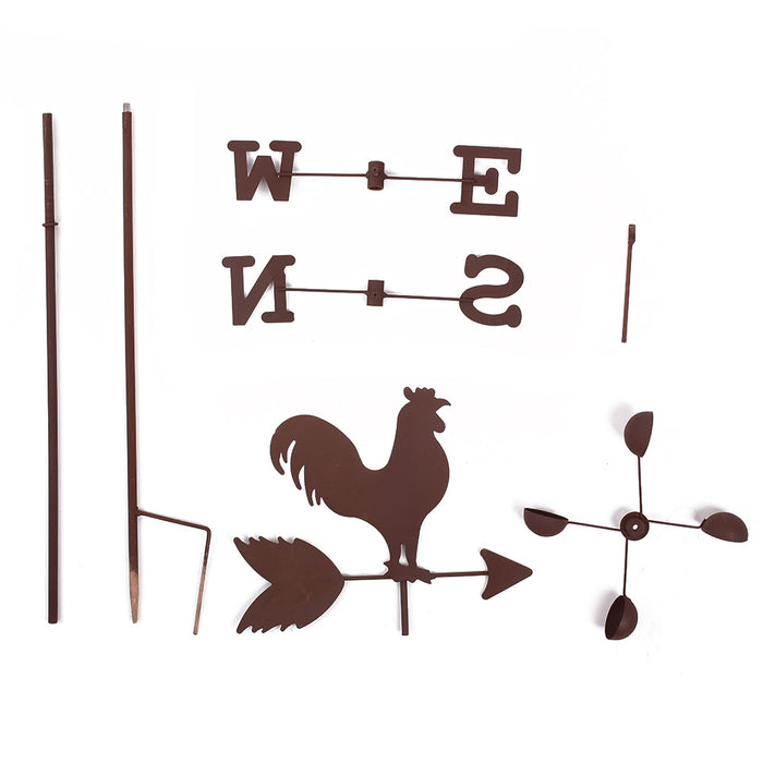METAL ROOSTER WEATHER VANE