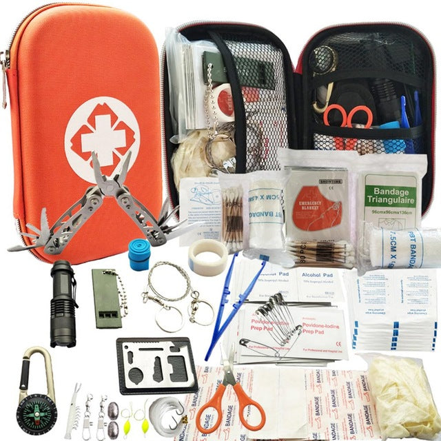 Outdoor Survival Kit 29-In-1