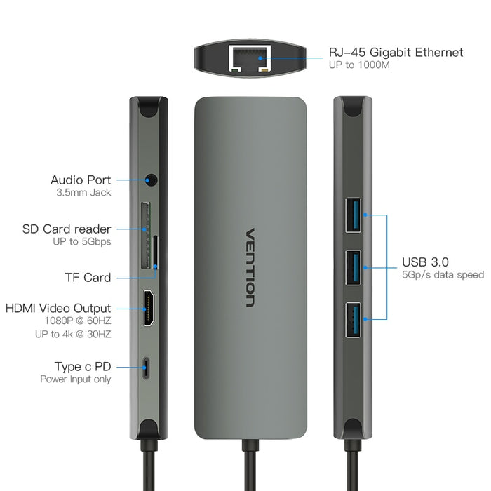 9-IN-1 USB-C Docking Station