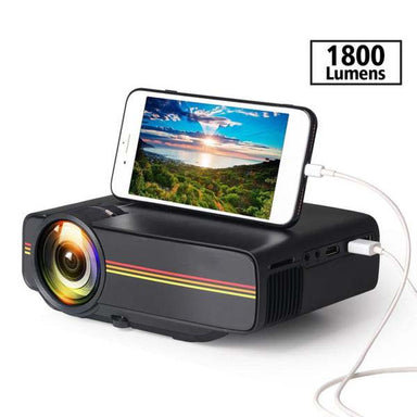 1800 Lumen Mini Projector
