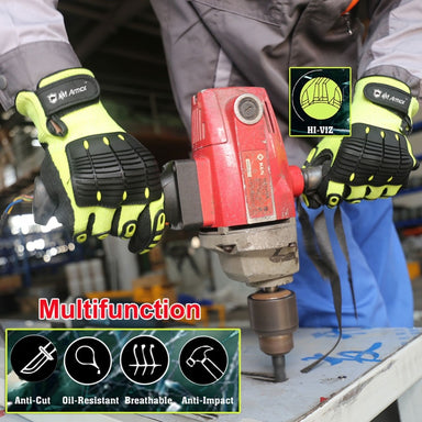 Nitrile Mechanic Working Glove