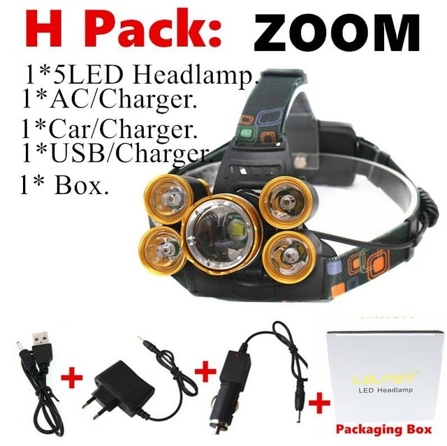 Outdoor LED Headlight 50000 Lumens