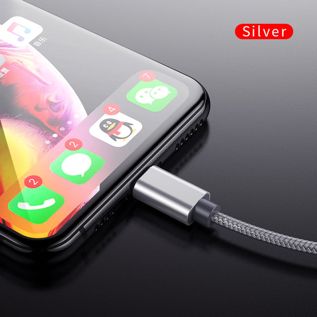 iPhone Fast Charging Lightning Cable 2.4A
