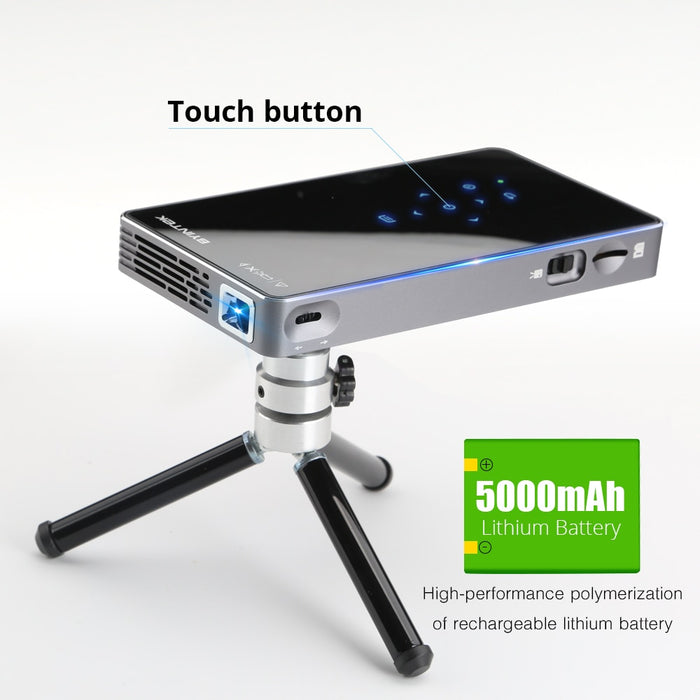 Android7.1 Pocket Projector With Battery