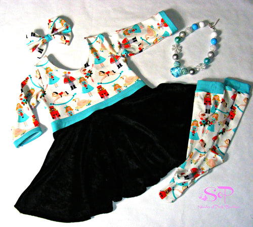 Christmas Dancer Nutcracker Inspired Dress