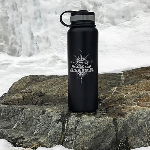 Alaska Adventure Water Bottle