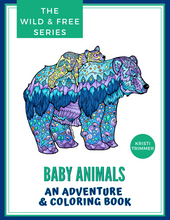 Load image into Gallery viewer, Book - Baby Animals: An Adventure & Coloring Book
