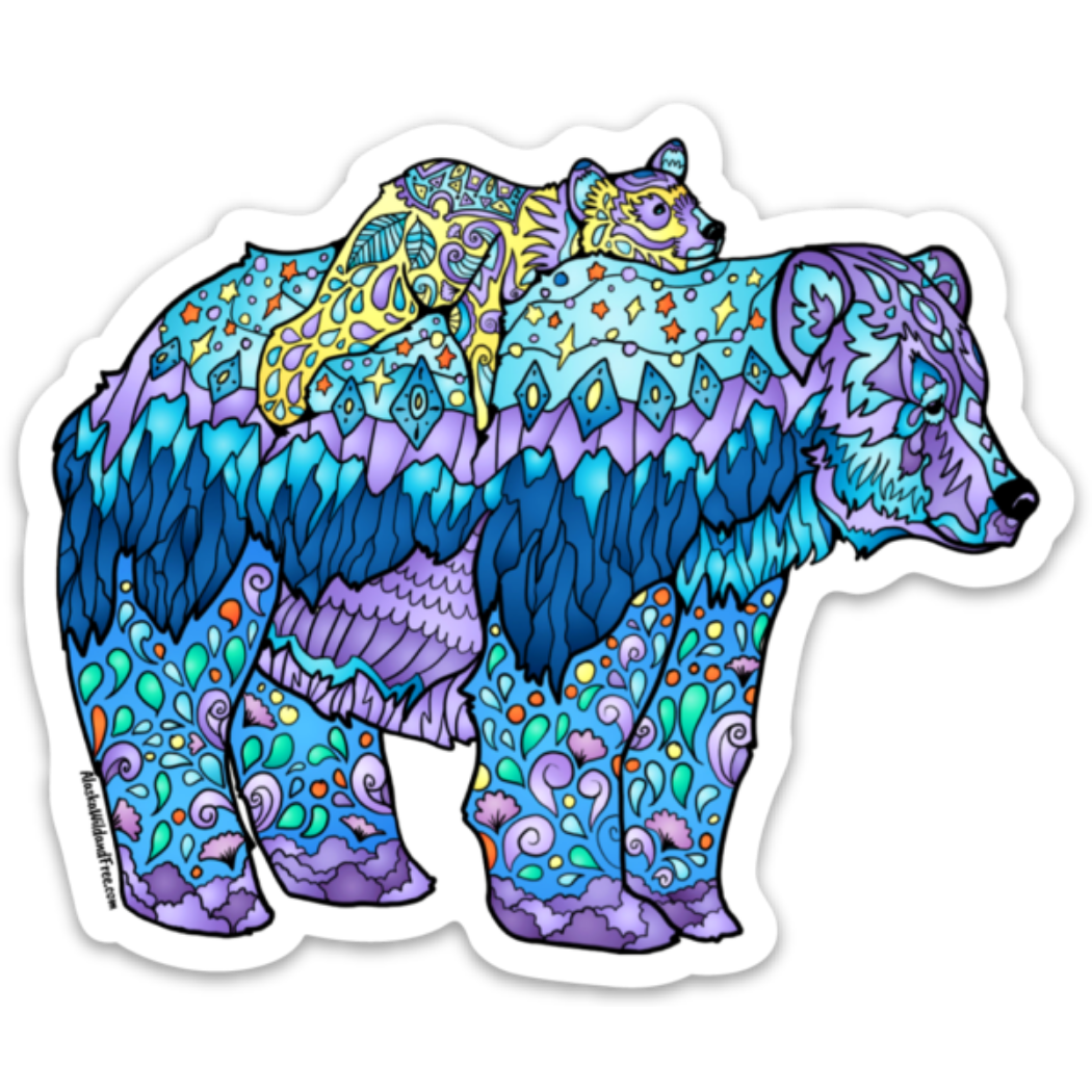Bear - Mama Bear Sticker