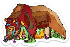 Bear - Brown Bear Sticker