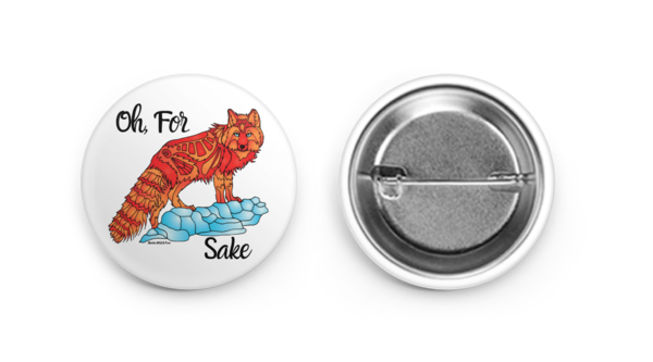 Button - For Fox Sake