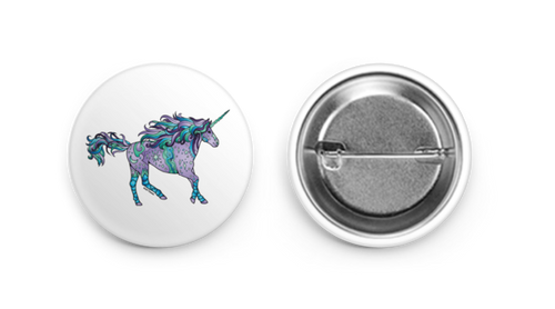 Button - Unicorn
