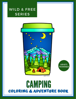 Book - Camping: An Adventure & Coloring Book