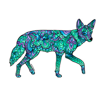 Load image into Gallery viewer, Coyote Stickers