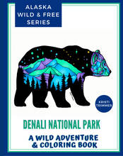 Load image into Gallery viewer, Book - Denali National Park: An Adventure & Coloring Book