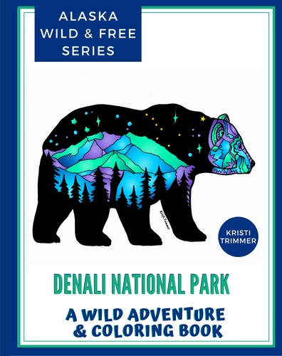 Book - Denali National Park: An Adventure & Coloring Book
