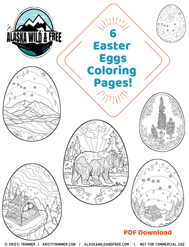 Color: Easter Eggs Coloring Pages