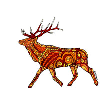 Load image into Gallery viewer, Elk - Brown Sticker