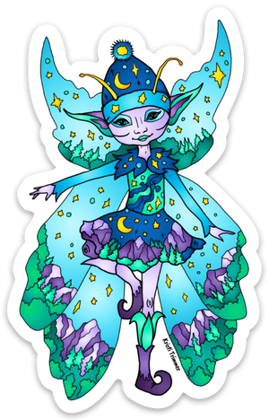Fairy - Mountain Fairy Sticker