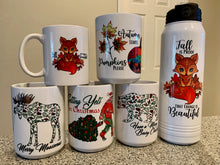 Load image into Gallery viewer, Coffee Mugs - Holiday Collection