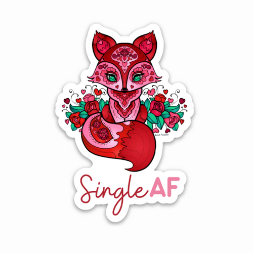 Valentine's Day - Single AF Fox