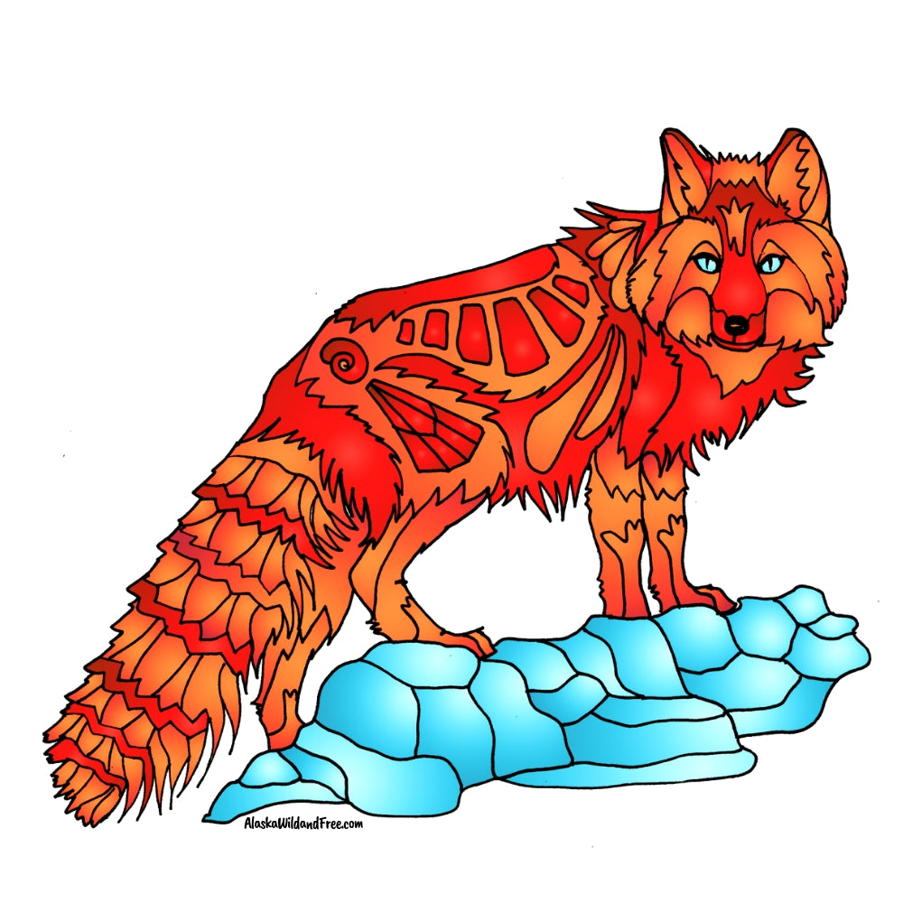 Fox - Arctic Fox - Red
