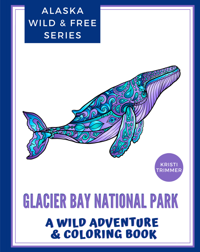 Book - Glacier Bay National Park: An Adventure & Coloring Book