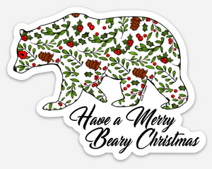 Holiday - Holly Bear + Merry Berry Christmas