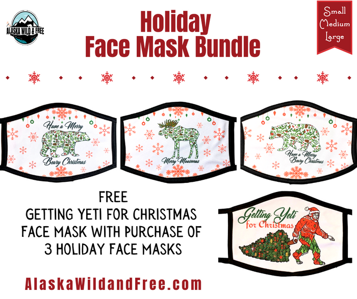 Face Masks - Holiday Collection Bundle