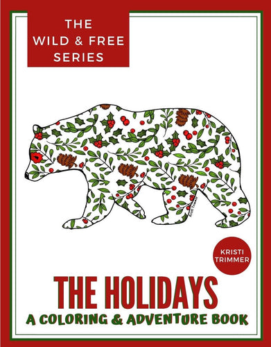 Book - The Holiday Collection: An Adventure & Coloring Book